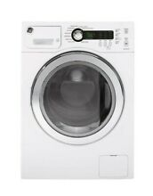 Brand New GE WCVH4800KWW 24  White Stackable Front Load Washer Washing Machine