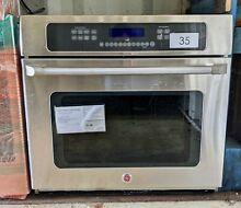 Cafe 30  Single Electric Wall Oven  CT918STSS