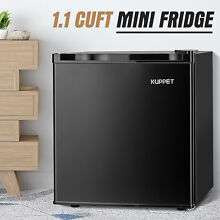 1 1 CuFt Compact Mini Freezer Fridge Upright Refrigerator Home Office Black