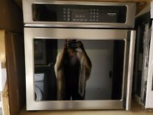Frigidaire Gallery FGEW27SPF Self Cleaning Single Electric Wall Oven Stainless