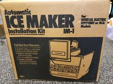 Automatic Ice Maker Installation Kit for IM 1 GE General Electric Hotpoint RCA