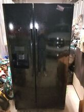 Samsung RS25H5111SG 36  Black Stainless Side By Side Refrigerator  44379 HRT