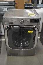LG WM8100HVA 29  Graphite Steel Front Load Washer NOB  48706 HRT