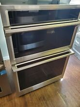 Samsung 30  Electric Microwave Combination Wall Oven NQ70M6650DS stainless steel