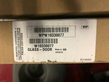 Whirlpool Oven Outer Door Glass W10330077