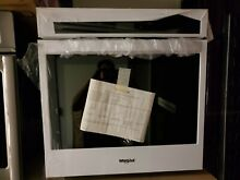 Whirlpool WOS51EC7HW 27  Smart Electric Single Wall Oven White