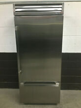 Dacor 36  Discovery Bottom Freezer Refrigerator DYF36BFTSR Right Hinge Stainless