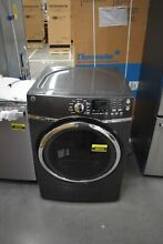 GE GFD45GSPMDG 27  Diamond Gray Front Load Gas Dryer NOB  48935 HRT