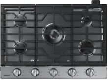 Samsung NA30N6555TS AA 30 in  Gas Cooktop   Stainless Steel