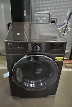 LG DLGX3901B 27  Black Steel Front Load Gas Dryer NOB  49200 HRT