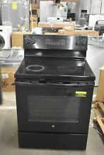 GE JB645DKBB 30  Black Freestanding Electric Range  49364 HRT