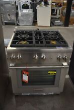 Thermador PRG304WH 30  Stainless Freestanding Gas Range  49378 HRT
