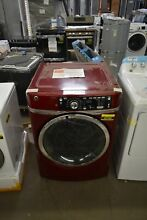 GE GFD48ESPKRR 28  Ruby Red Front Load Electric Dryer 8 3 CU FT  NOB  43765 HRT