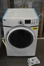 GE GFD45ESSMWW 27  White Front Load Matching Electric Dryer NOB  39594 MAD