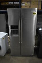 KitchenAid KRSC503ESS 36  Stainless Side by Side CD Refrigerator  48140 MAD