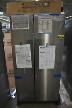 KitchenAid KRSC703HPS 36  Stainless Side by Side Refrigerator CD NOB  50390 HRT