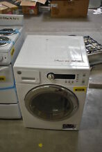 GE WCVH4800KWW 24  White Front Load Washer  28652 MAD