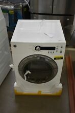 GE DCVH480EKWW 24  White Front Load Electric Dryer NOB  43114 MAD