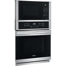 Frigidaire Stainless Steel Gallery 27  Microwave Wall Oven Combo FGMC2766UF