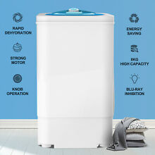 17 6 LBS Compact Spinner Mini Dryer Draining Home Laundry Dorms 1500 RPM White