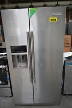 KitchenAid KRSF505ESS 36  Stainless Side by Side Refrigerator NOB  31895 WLK