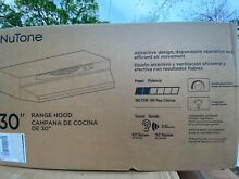 NuTone ACS Series 30 in Convertible Under Cabinet Range Hood with Light in White
