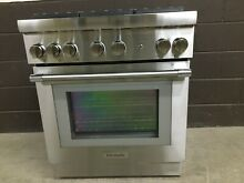 Thermador PRG305WH 30  Gas Pro Harmony Range 5 Burners Stainless