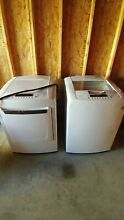 LG 4 1 Cu Ft Washer and 7 3 Cu Ft Electric Dryer   PLEASE READ