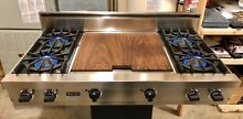 Watch Testing On YouTube  48  Viking  Pro Rangetop Cooktop SS   DOUBLE GRIDDLE