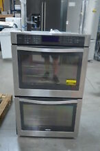 Whirlpool WOD97ES0ES 30  Stainless Double Electric Wall Oven NOB  25661 CLN