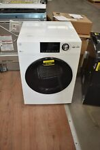 GE GFD14ESSNWW 24  White 4 3 cu  ft  Front Load Electric Dryer NOB  51597 HRT