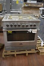 Fisher Paykel DCS RGV2366N 36 Stainless 36  Gas Range Convection Oven  51645