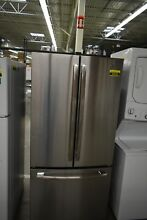 GE GNE25JSKSS 33  Stainless French Door Refrigerator  46626 HRT
