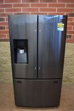 Samsung RF263TEAESG 36  Black Stainless French Door Refrigerator NOB  45672 HRT