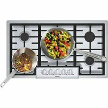 Bosch Benchmark Stovetop 36 inch NGMP656UC beautiful 5 burner Cooktop  Awesome