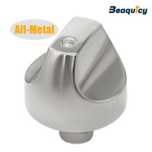 WB03T10329 Stainless Steel Range Burner Control Knob Replacement for GE Cooktop