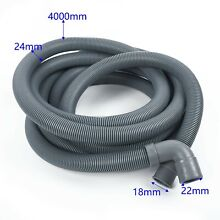 4M Extra Long Durable Drain Hose Waste Pipe For Washing Machine Dishwasher