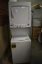 GE GUD24ESSMWW 24  White Electric Laundry Center  35723 CLN