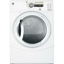 GE GFDN240ELWW 27  White Front Load Electric Dryer NIB  9589 CLW