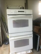 GE Profile Built In Convection Double Wall Oven   White