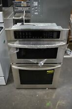 LG LWC3063ST 30  Stainless Microwave Oven Combo Wall Oven  NOB  49194 HRT