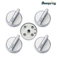 W10594481 Range Knob Stainless Steel Stove Replacement for Whirlpool  5 Pack