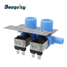 285805 Water Inlet Valve with Bracket for Whirlpool   Kenmore Washer by Beaquicy