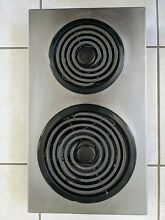 Jenn Air Electric Coil Cooktop Model AC110 STAINLESS  2