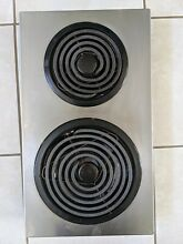 Jenn Air Electric Coil Cooktop Model AC110 STAINLESS  3