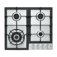 Haier HCC2230AGS 24  Stainless 4 Burner Gas Cooktop NOB  46801 HRT