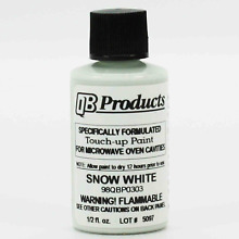 ERP Microwave Oven Universal Cavity Touch Up Paint 98QBP0303 Snow Bright White