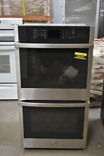 GE JKD3000SNSS 27  Stainless Double Electric Wall Oven NOB  92678 HRT
