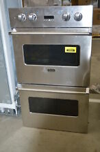 Viking VEDO1302SS 30  Stainless Double Electric Wall Oven NOB  31441 MAD