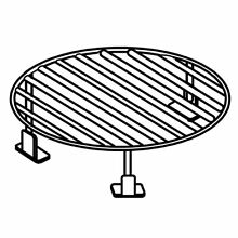 Frigidaire 5304498741 Microwave Round Cooking Rack Genuine OEM part